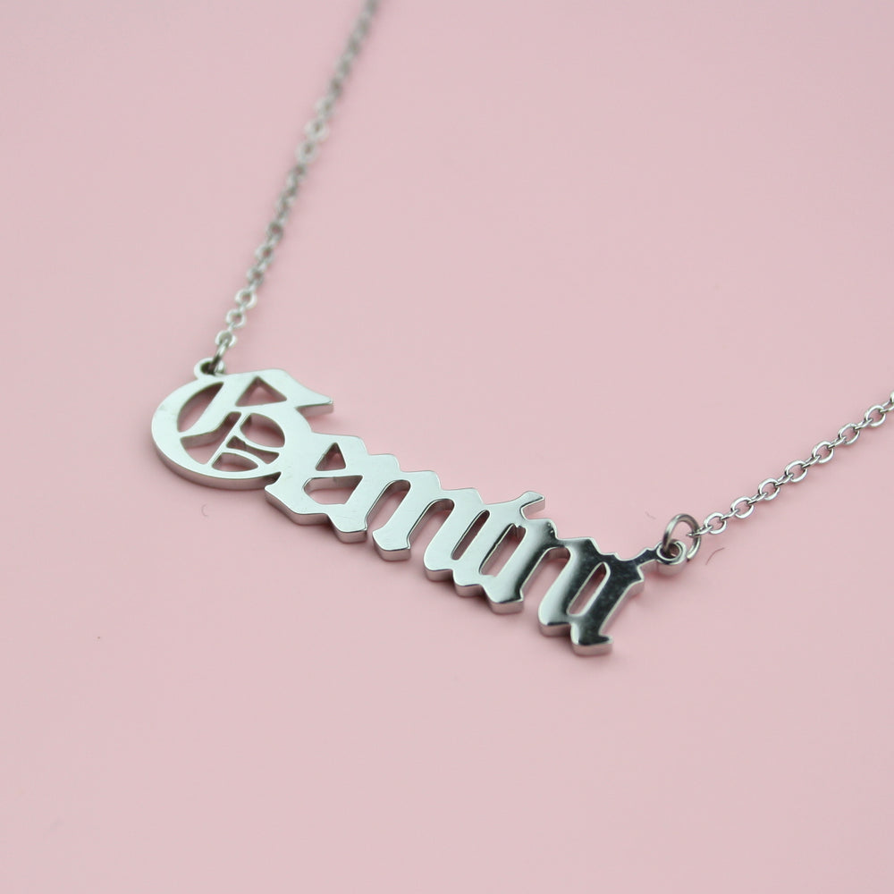 Gemini Horoscope Necklace