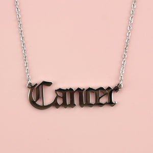 Cancer Horoscope Necklace