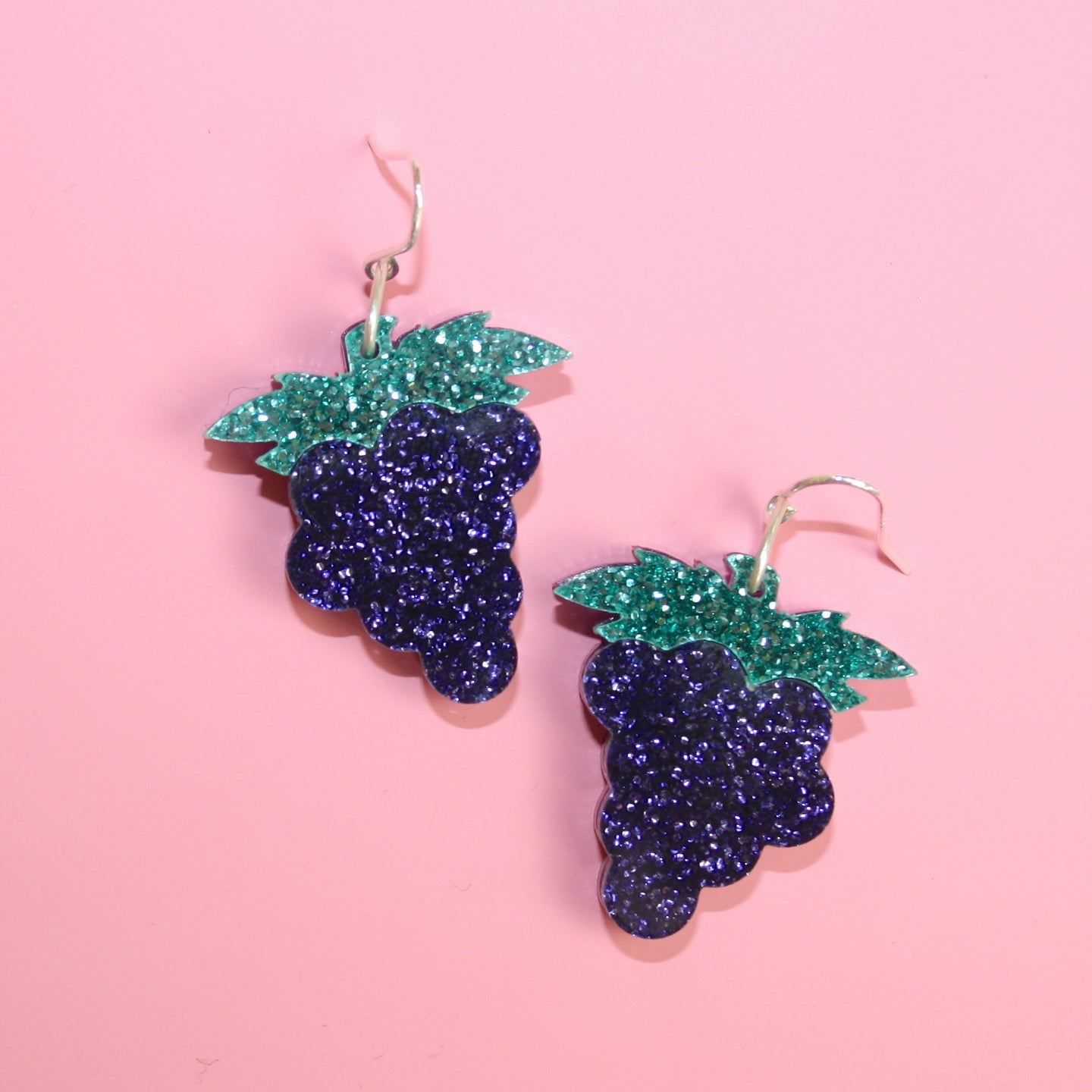 Small Grape Earrings