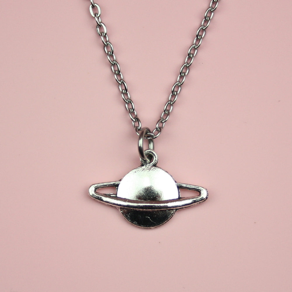 Planet Charm Necklace