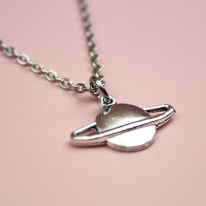 Load image into Gallery viewer, Planet Charm Necklace