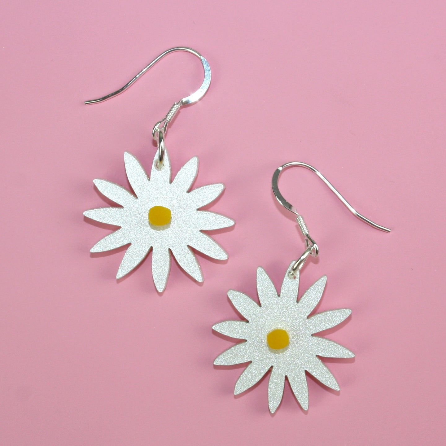 Small Daisy Earrings
