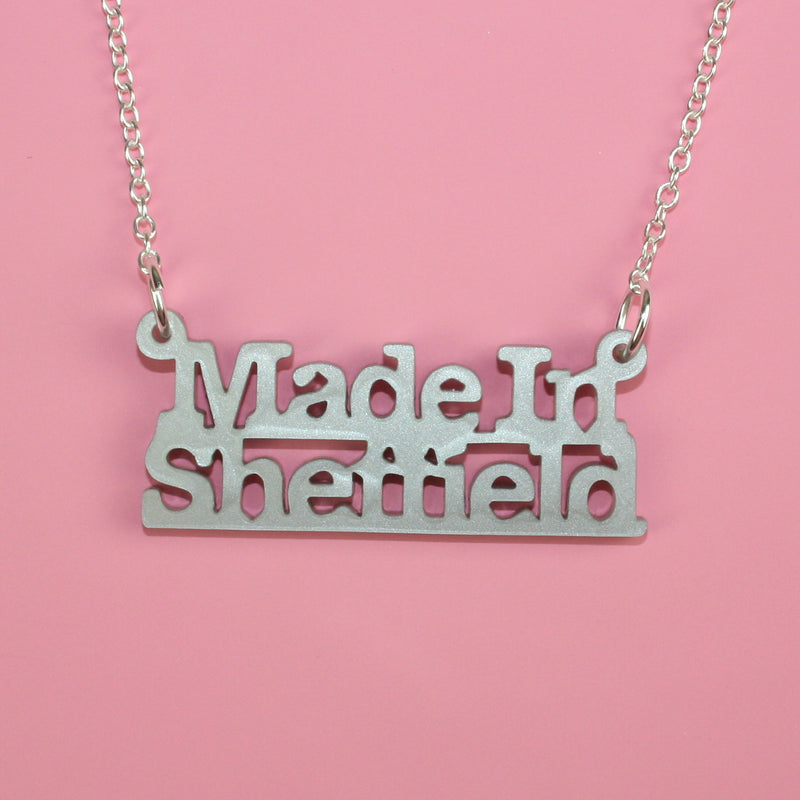 Made In Sheffield Necklace