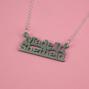 Made In Sheffield Necklace - Sour Cherry