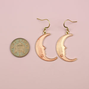 Peach Moon Earrings