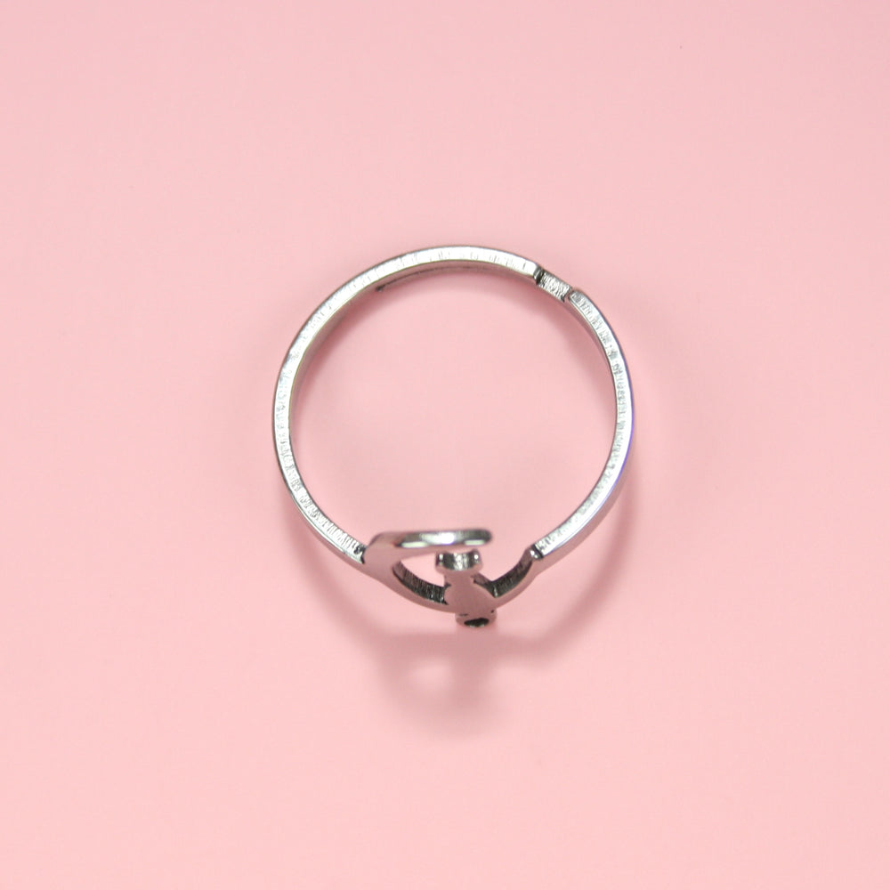 Cat On The Moon Ring
