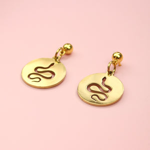 Hissy Fit Earrings (Gold Plated)