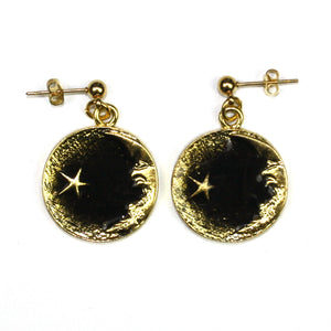 Once In A Black Moon Earrings