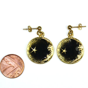 Once In A Black Moon Earrings - Sour Cherry