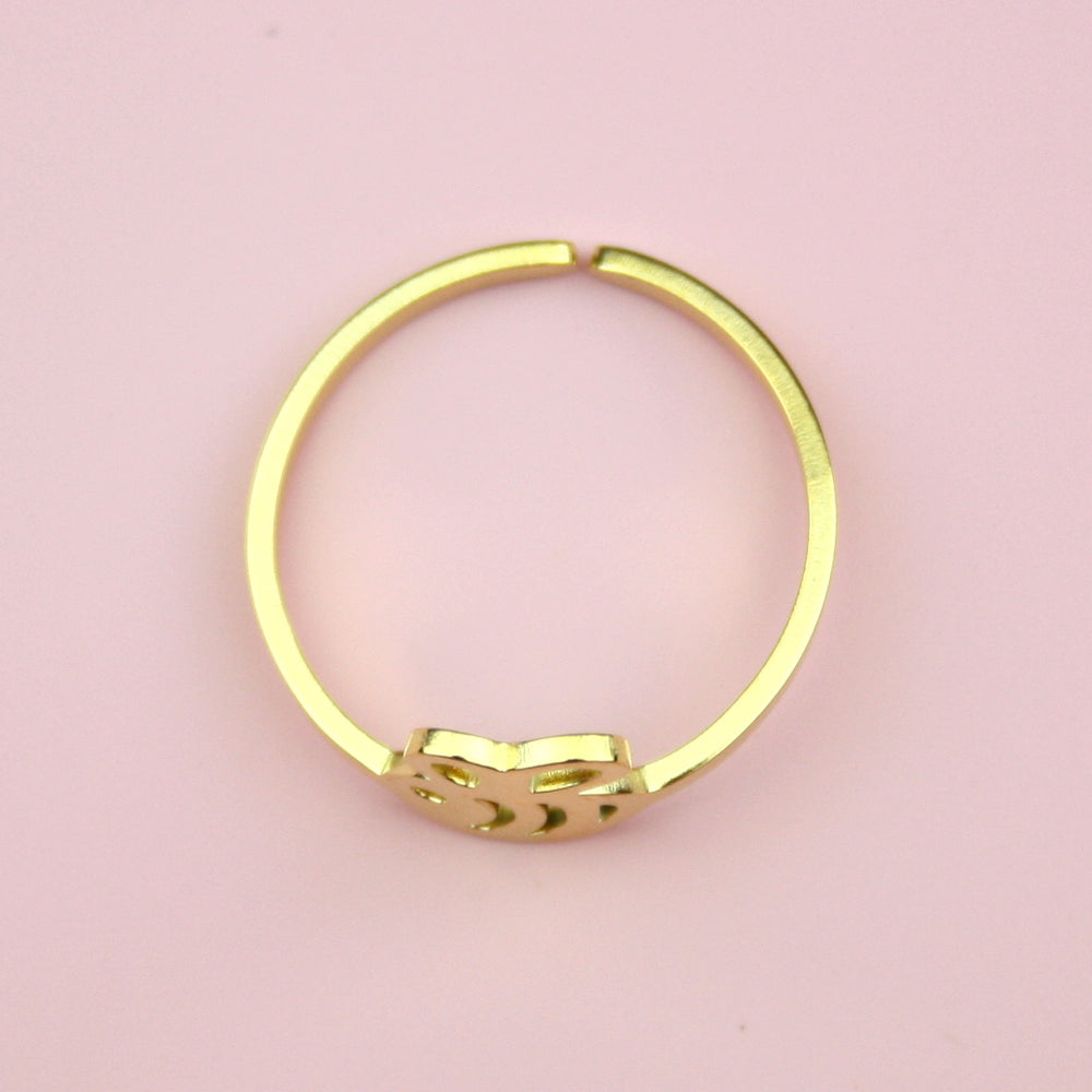 Bee Ring (Gold Plated)