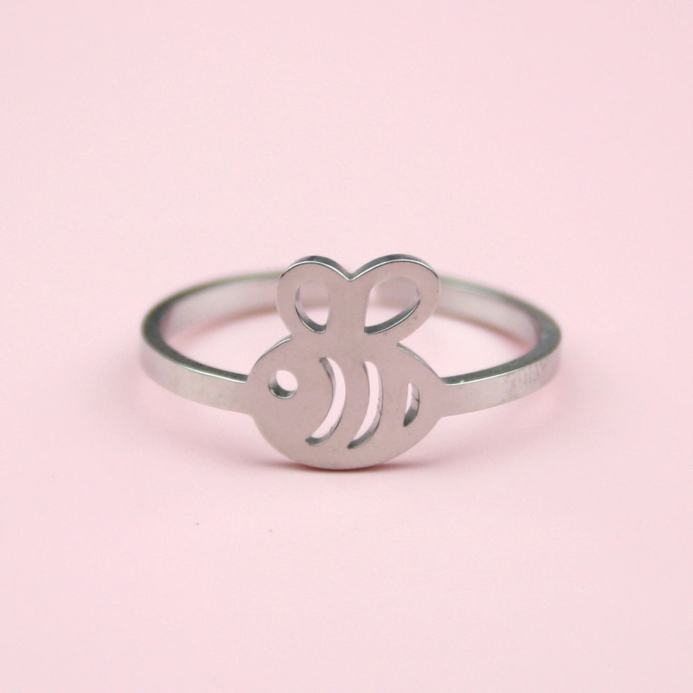 Bee Ring (Stainless Steel)