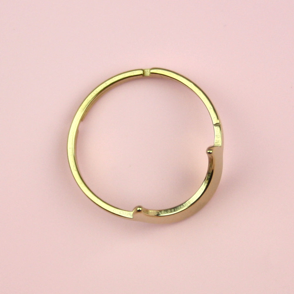 Moon Ring (Gold Plated)