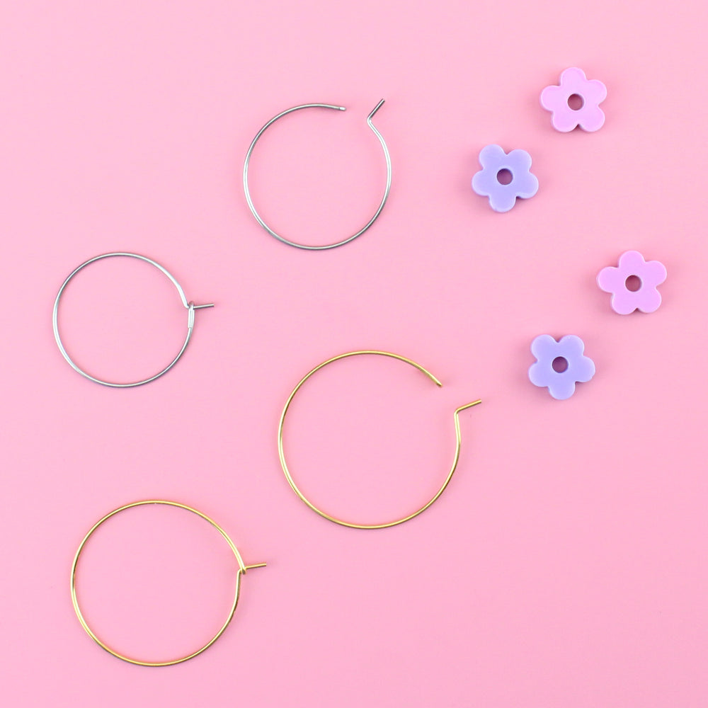 Load image into Gallery viewer, Fried Egg Earrings - Sour Cherry