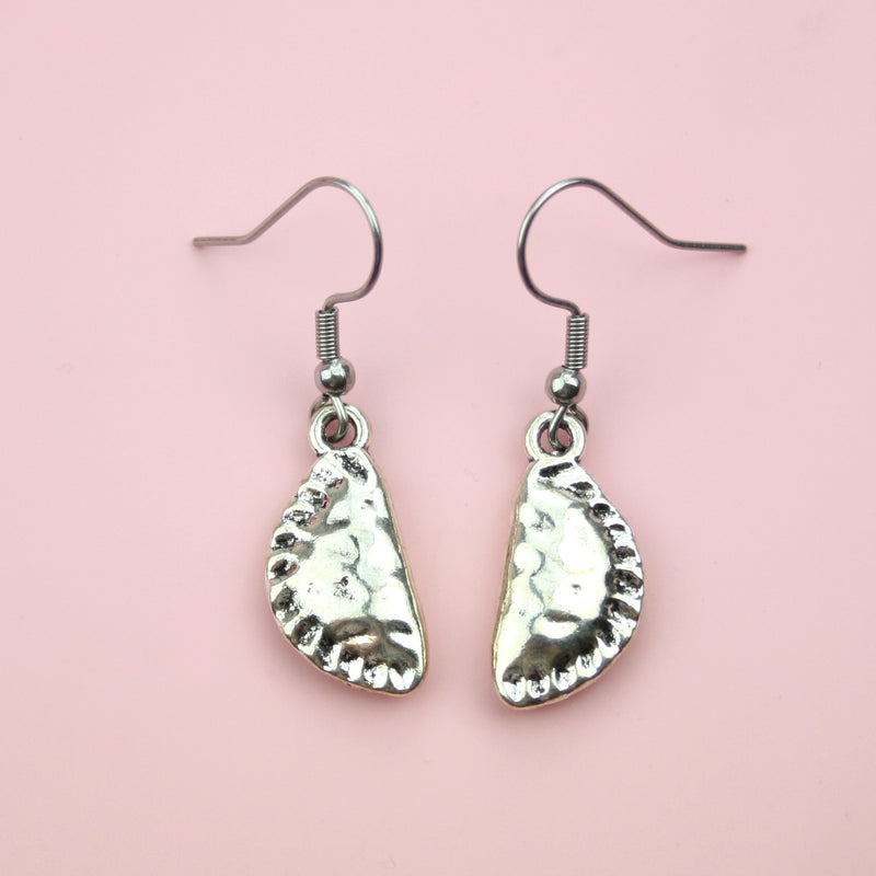 Cornish Pasty Earrings - Sour Cherry
