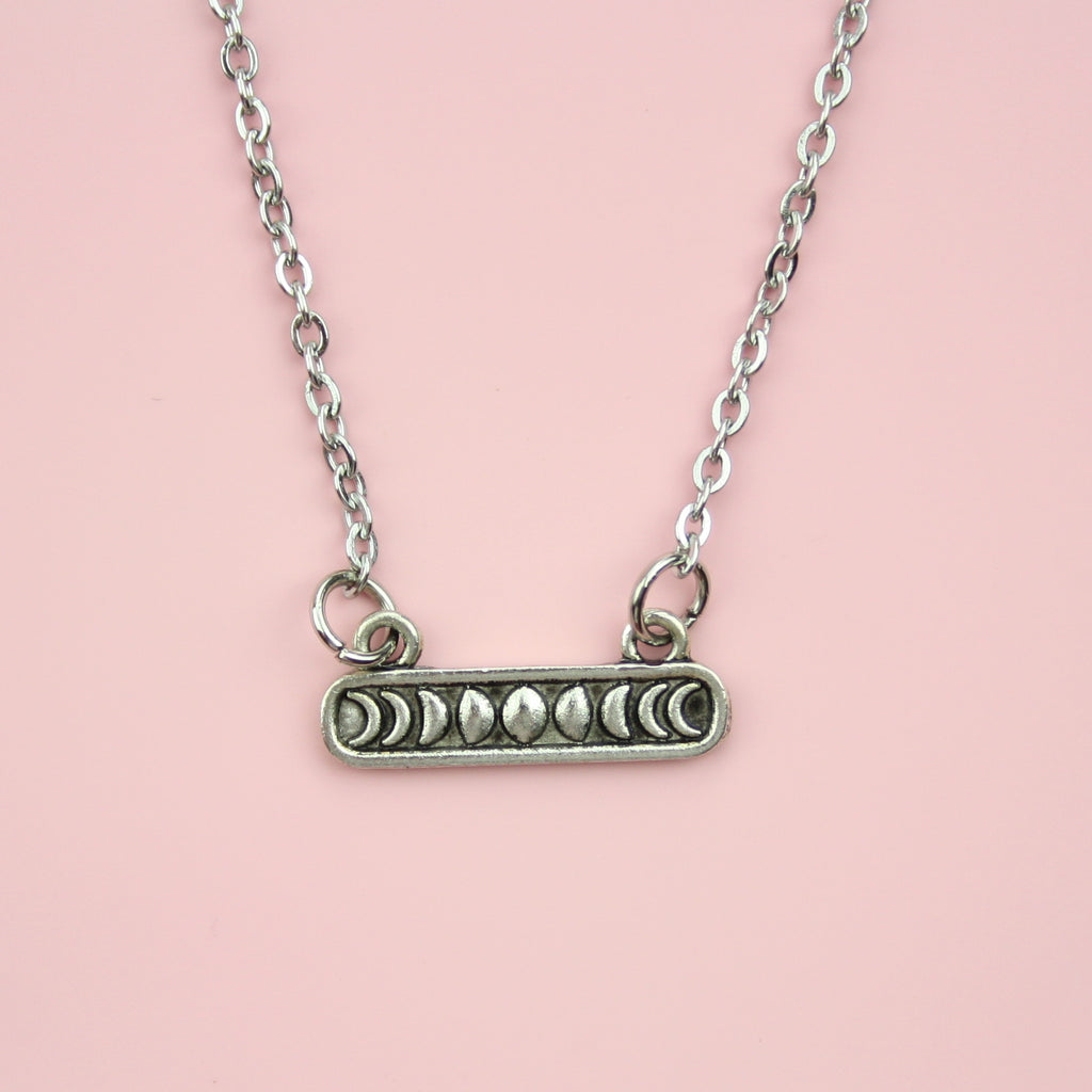 Moon Bar Necklace
