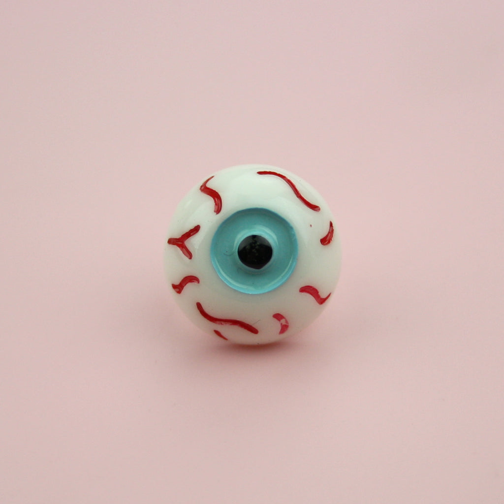 Eyeball Pin - Sour Cherry