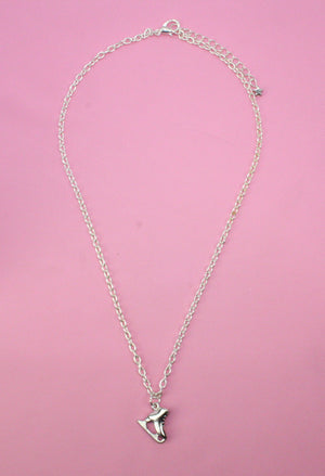 Ice Skate Necklace - Sour Cherry