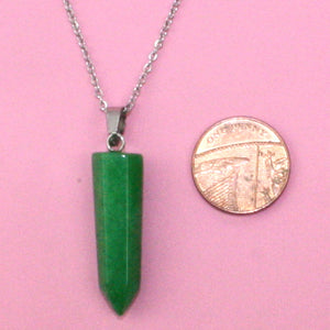 Malaysian Jade Necklace - Sour Cherry