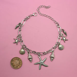 Part Of Your World Bracelet/Anklet - Sour Cherry