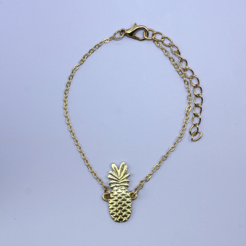 Pineapple Anklet - Sour Cherry