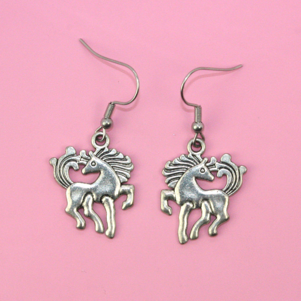 Pony Earrings - Sour Cherry