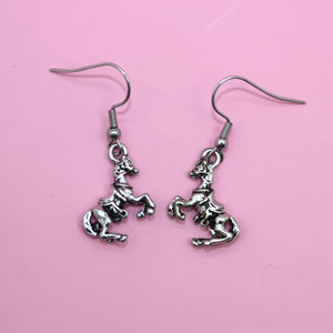 Rodeo Horse Earrings - Sour Cherry