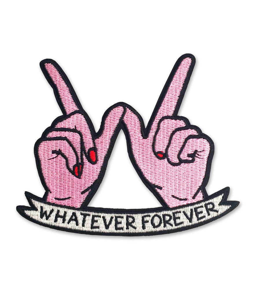 Whatever Forever Patch Pink - Sour Cherry
