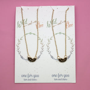 Your're One In a Melon Necklace Set - Sour Cherry