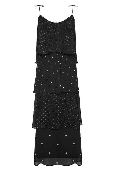 Anine Bing Daisy Dress Black
