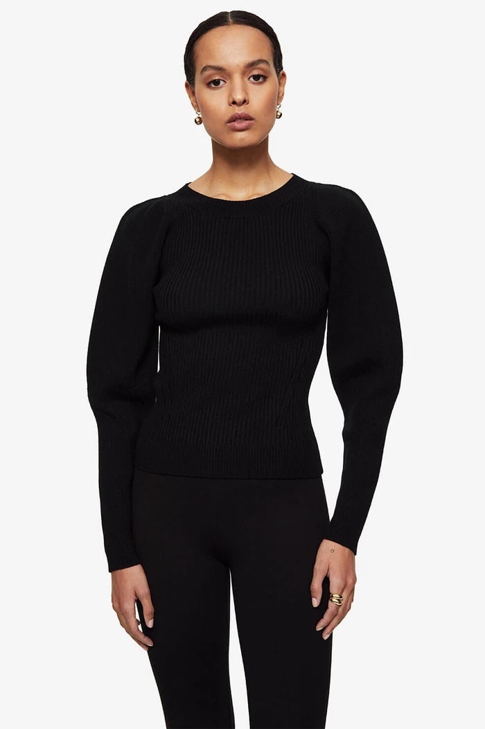 Anine Bing Rowan Sweater Black
