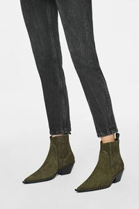 Harris Boot - olive Green