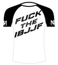 Load image into Gallery viewer, Fuck the IBJJF Rash Guard