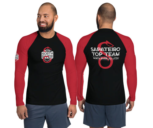 NRJJ Sapateiro Top Team Long Sleeve Rash Guard