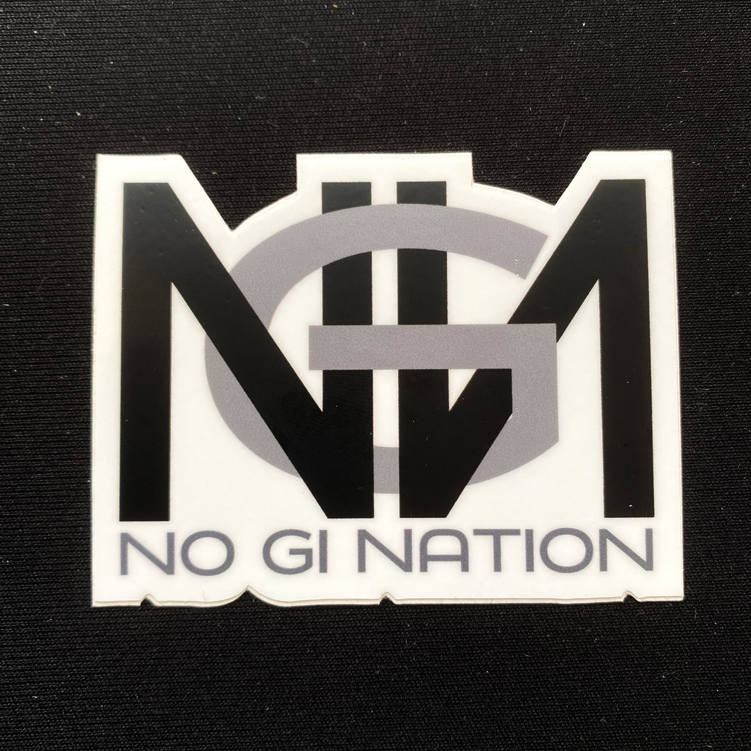 No Gi Nation Sticker