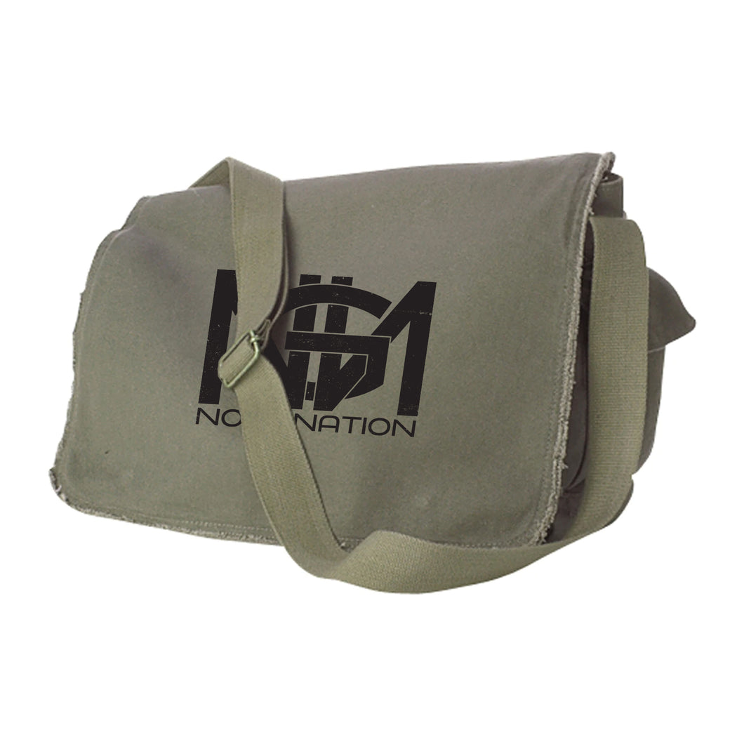 No Gi Nation Raw Edge Messenger Bag
