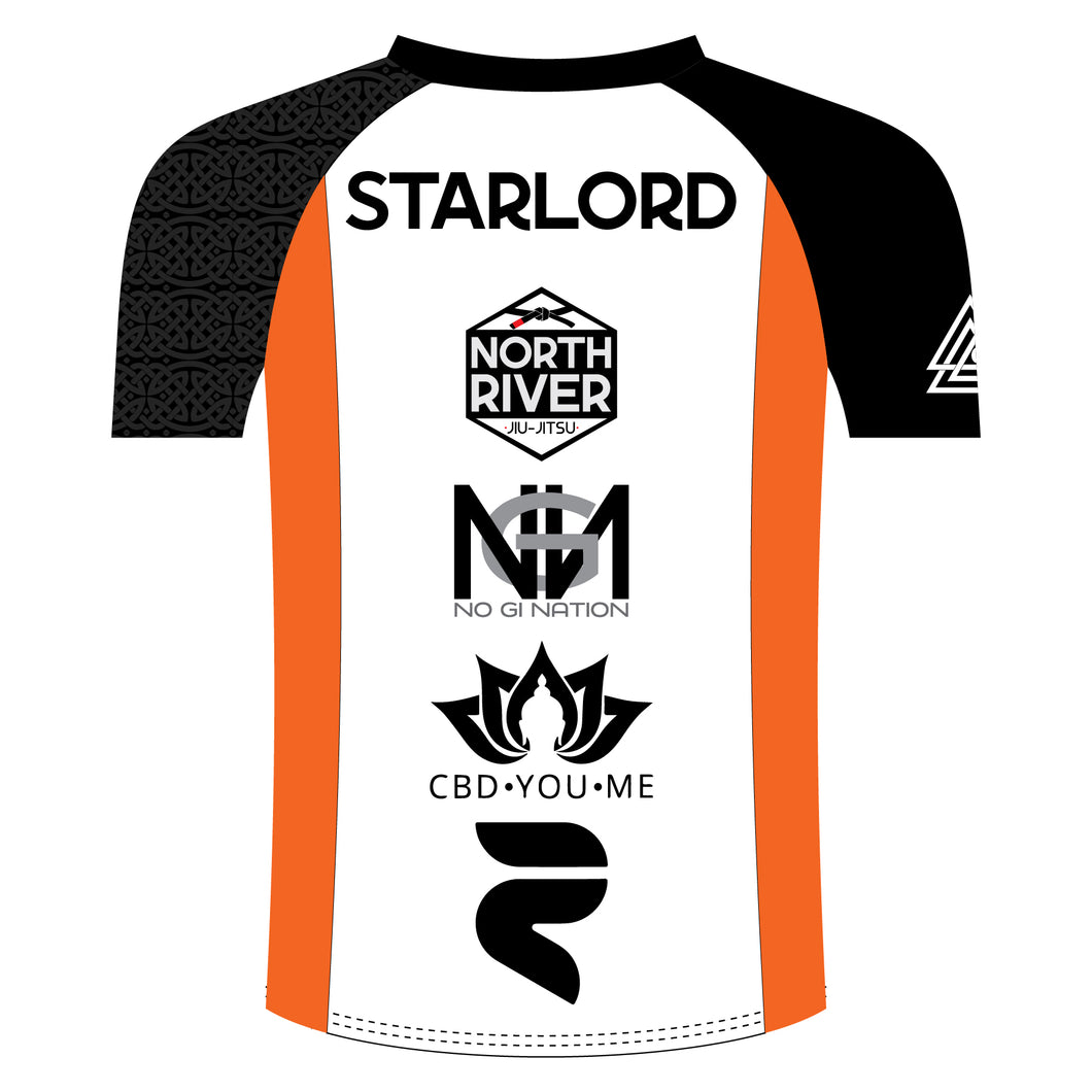 Add My Name and Logos to a Rash Guard!