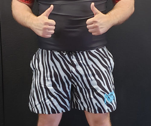 Ice Tiger Fight Shorts