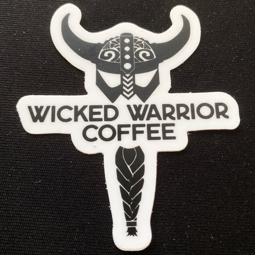 Wicked Warrior Coffee Sticker