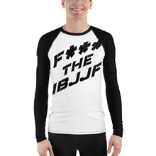 Load image into Gallery viewer, F*** the IBJJF Rash Guard
