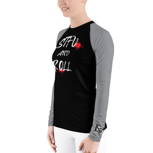 STFU and Roll Women's Rash Guard