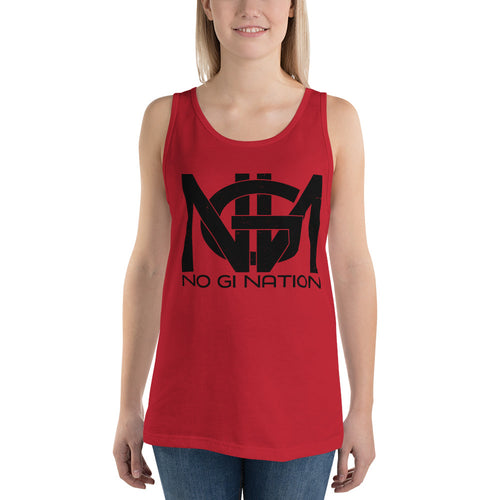 No Gi Nation Logo Tank Top
