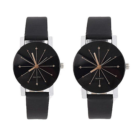 1 Pair Of Couple Wrist Watch