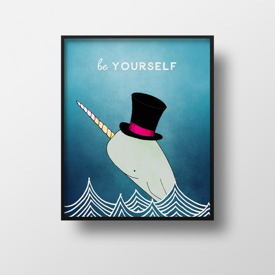 Magic Narwhal Print