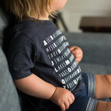Kids' Seattle Alphabet Shirt