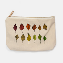 Leaf Gradient Canvas Pouch