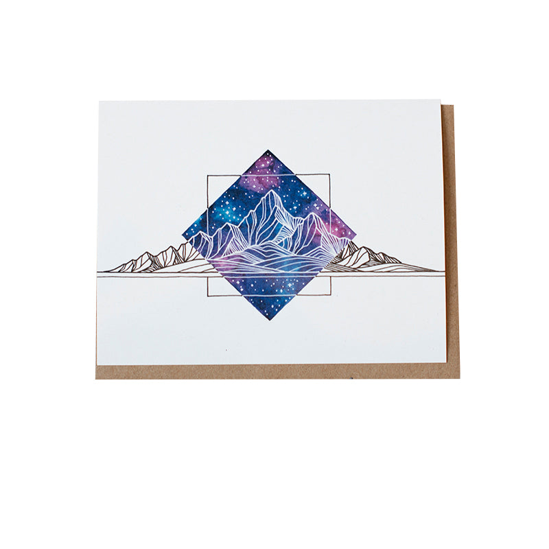 Dalton Galaxy Greeting Card