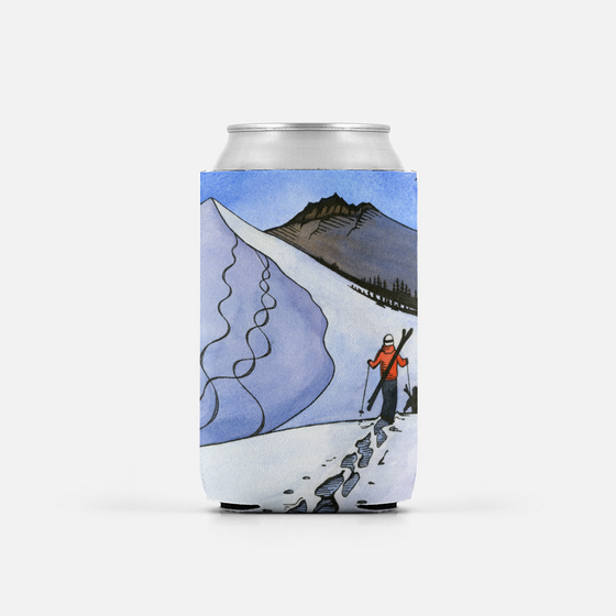 Backcountry Ski Can Cooler