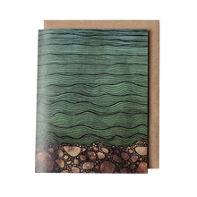 River Bed Greeting Card