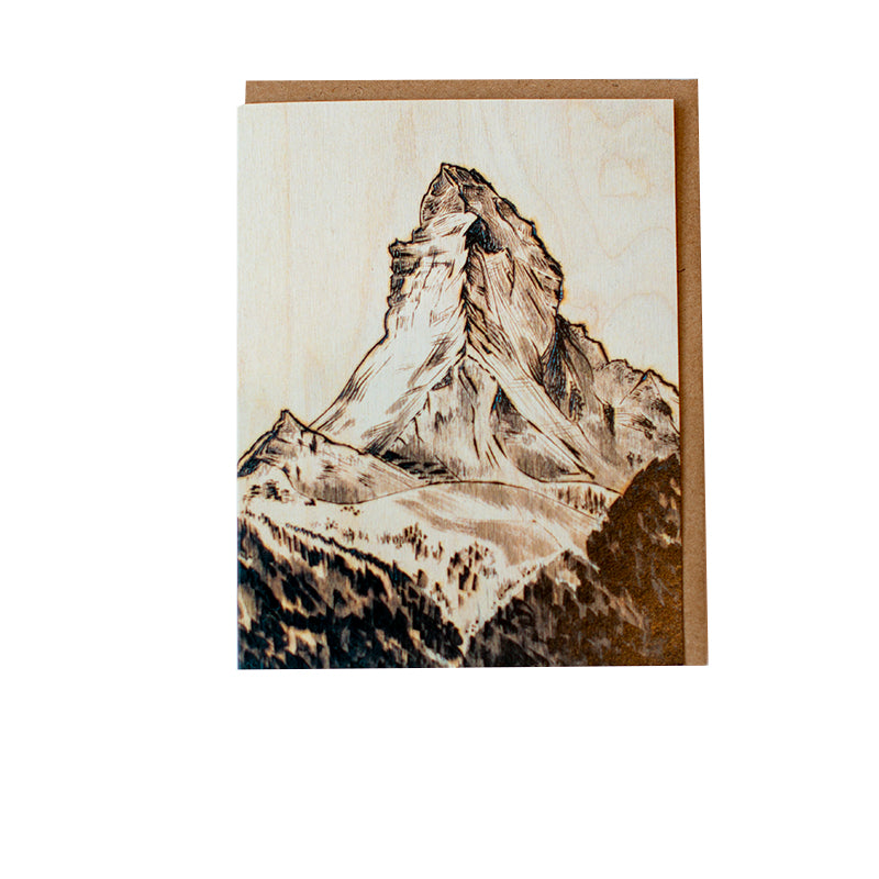 Hoffman Matterhorn Greeting Card