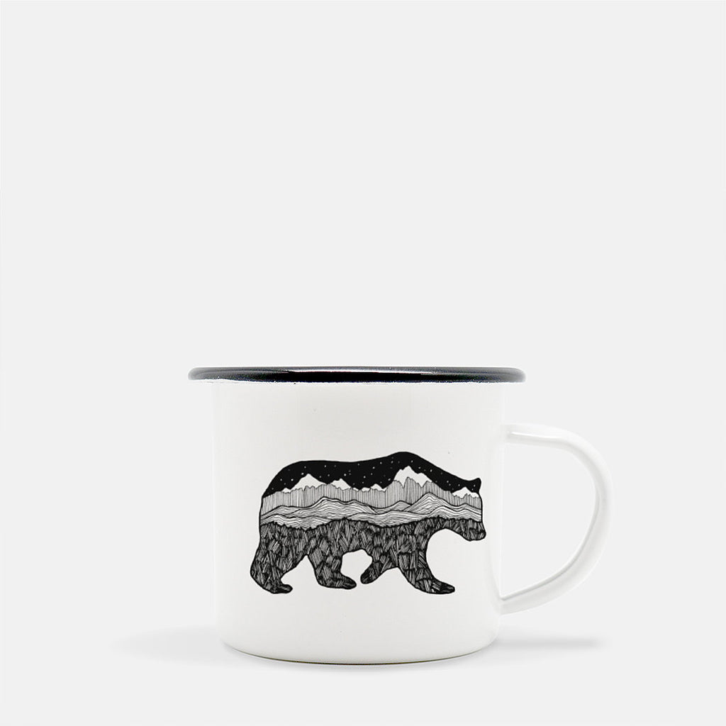 Grizzly Camp Mug